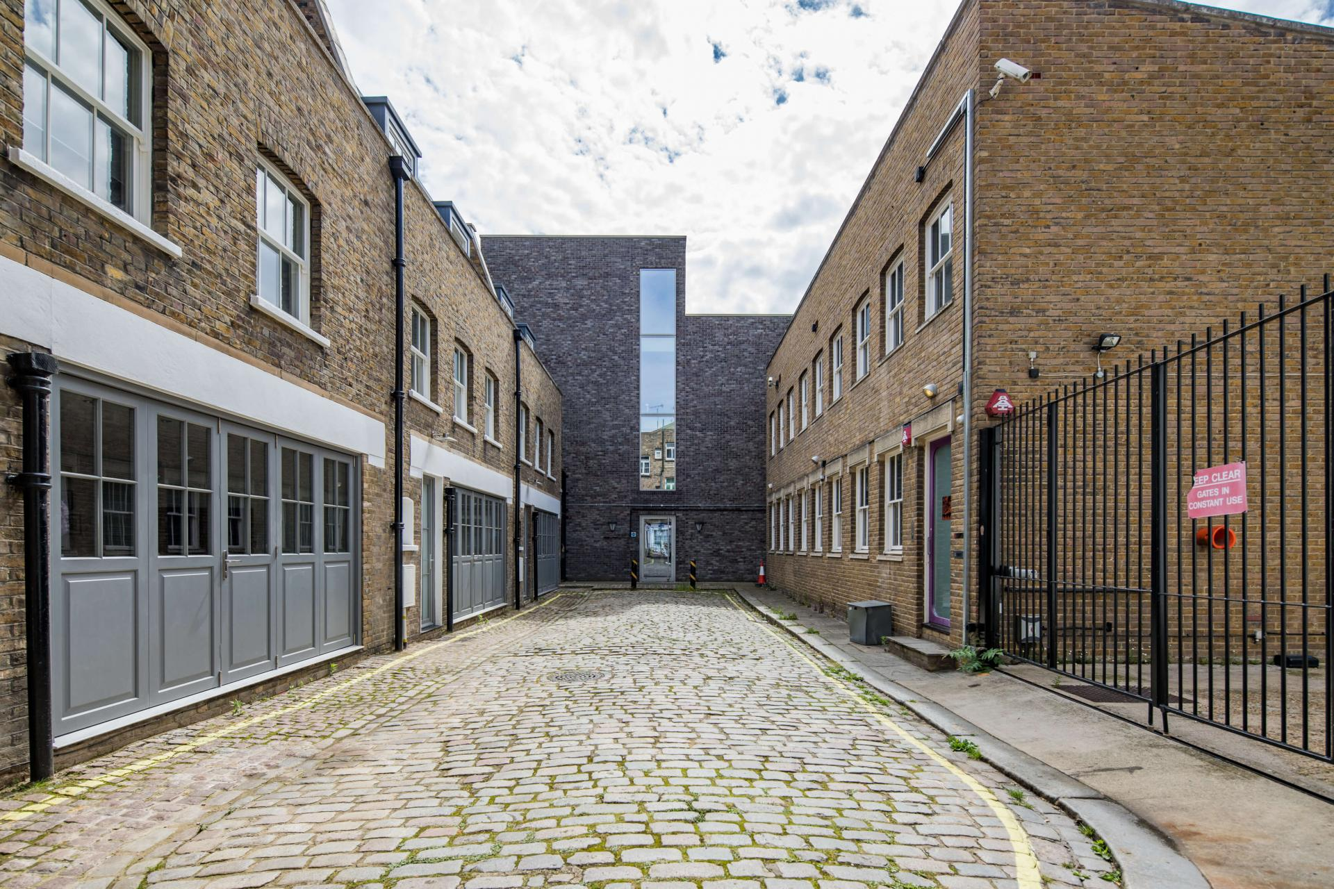 Entrance at Rainsford Mews, Paddington, London - Citybase Apartments
