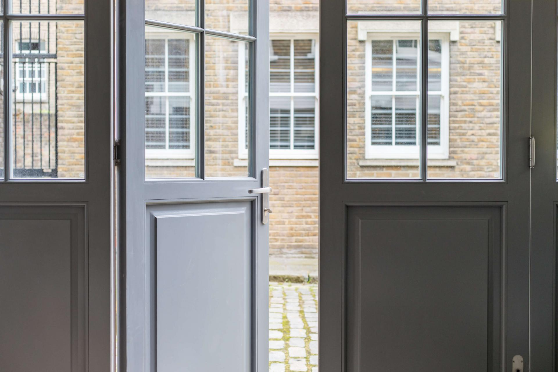 Door at Rainsford Mews, Paddington, London - Citybase Apartments