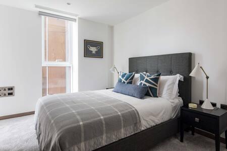 Bedroom at Paddington Gardens, Paddington, London - Citybase Apartments