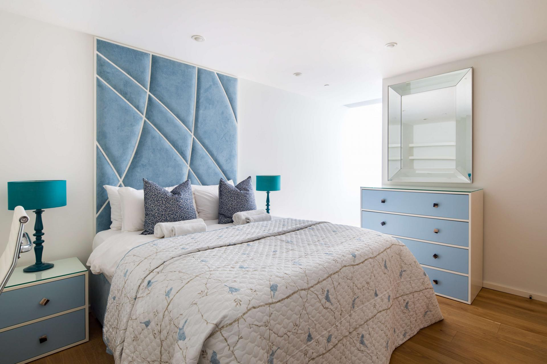 Bedroom at Meritas Court Apartments, Bayswater, London - Citybase Apartments