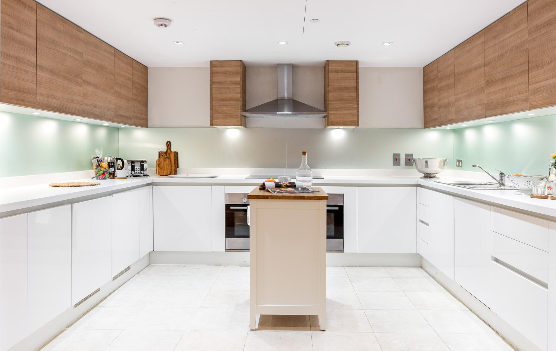 Modern kitchen at Meritas Court Apartments, Bayswater, London - Citybase Apartments