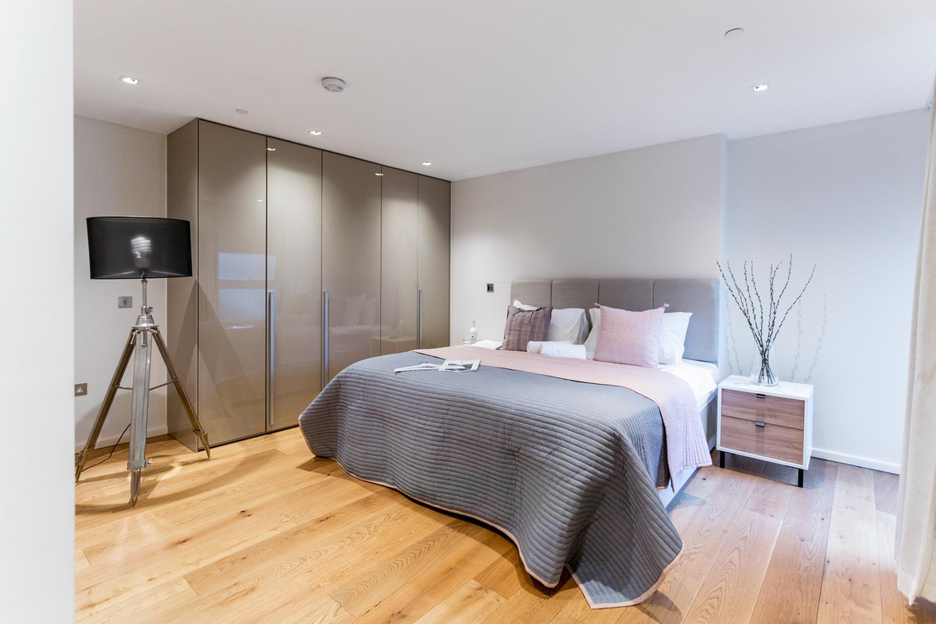 Wardrobe at Meritas Court Apartments, Bayswater, London - Citybase Apartments