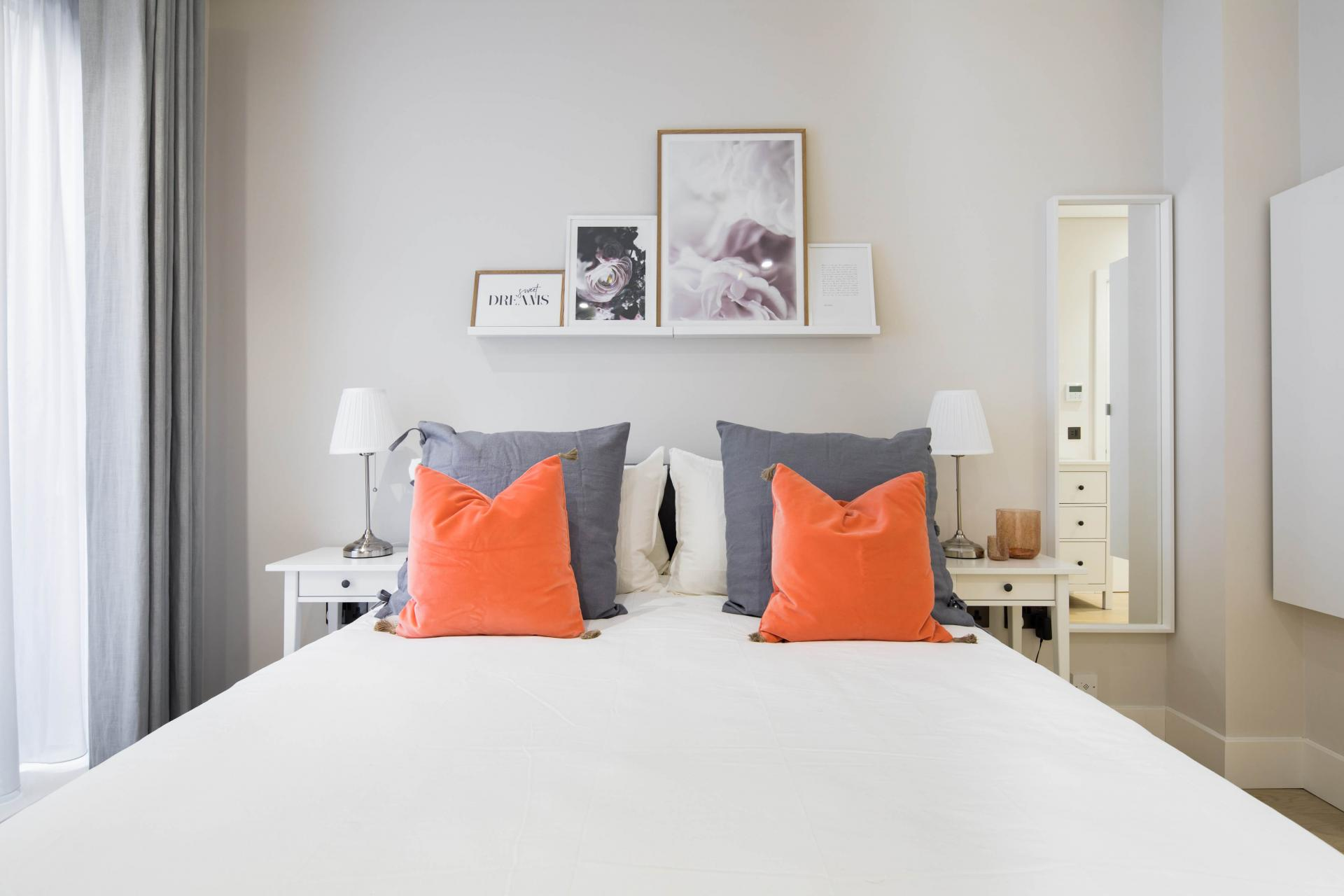 Bedding at Castle Lane Apartments, Westminster, London - Citybase Apartments