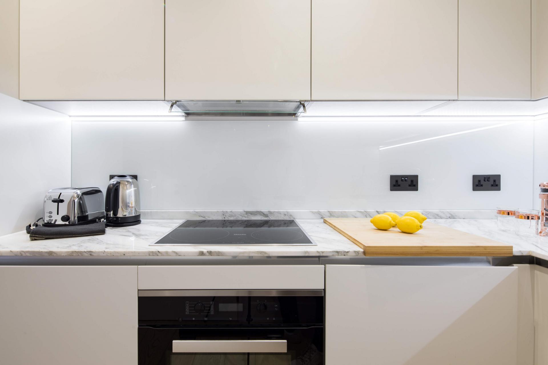 Worktop at Castle Lane Apartments, Westminster, London - Citybase Apartments