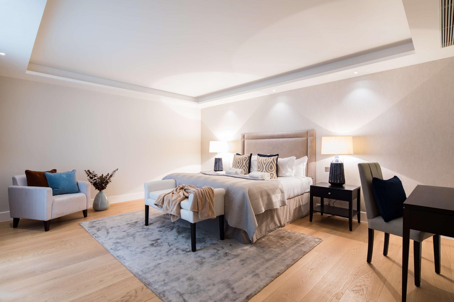 Cosy room at Logan Place Apartments, Kensington, London - Citybase Apartments