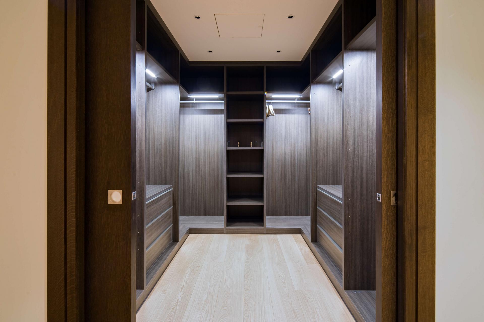 Wardrobe at Logan Place Apartments, Kensington, London - Citybase Apartments