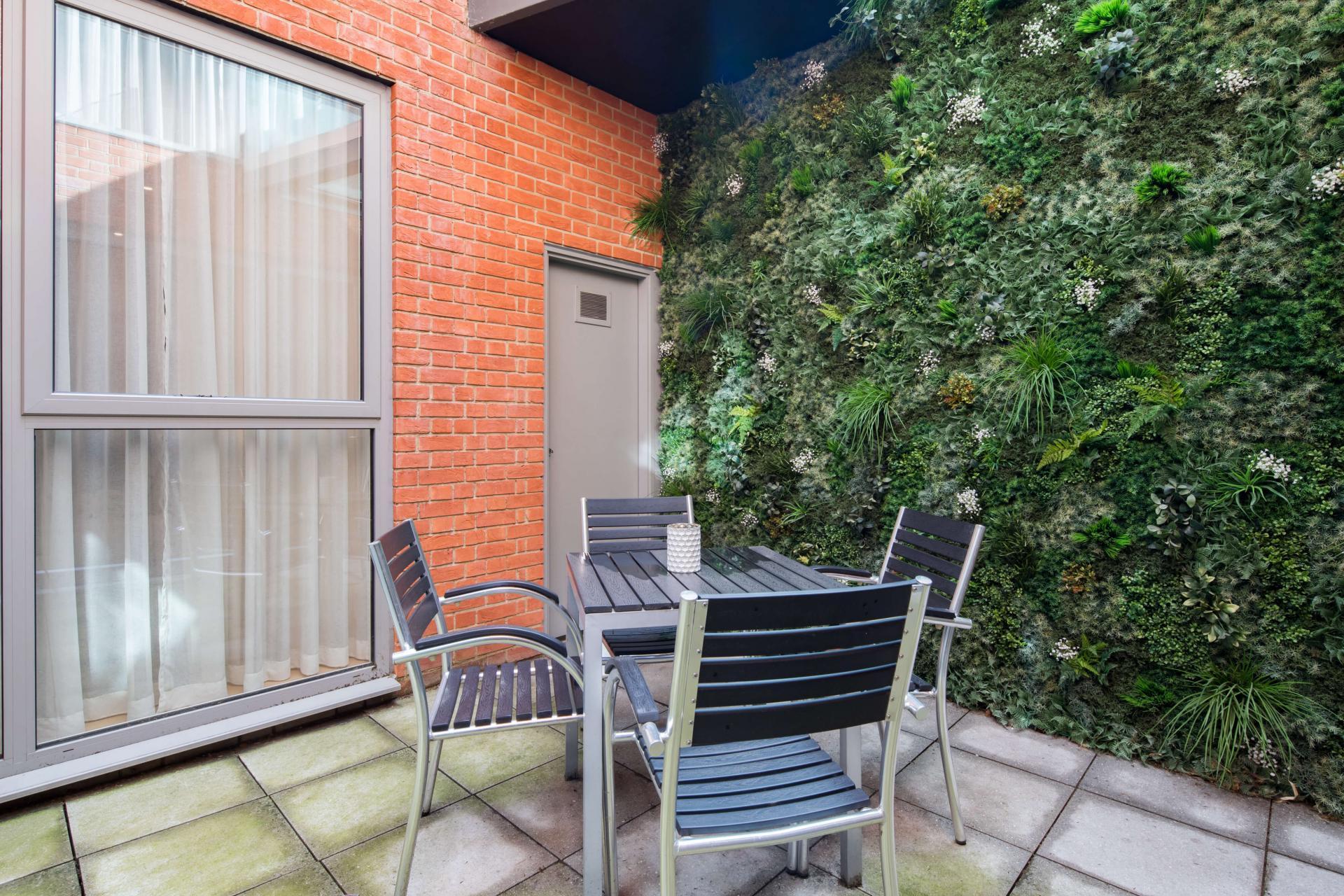 Balcony at Logan Place Apartments, Kensington, London - Citybase Apartments