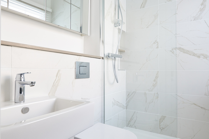 Bathroom at Inverness Mews, Bayswater, London - Citybase Apartments