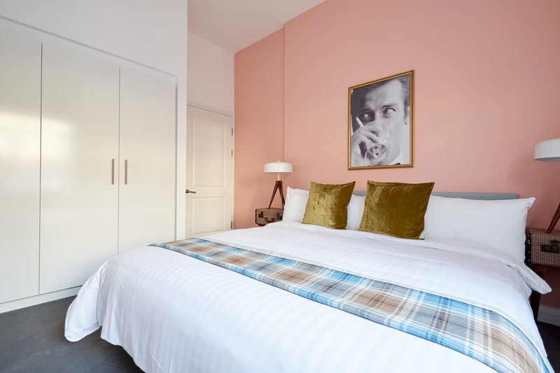 Bedroom at Inverness Mews, Bayswater, London - Citybase Apartments