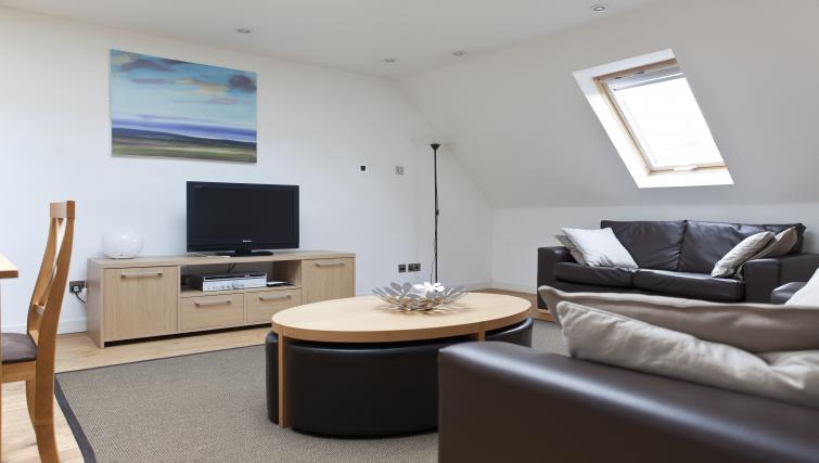 Living room at Canning Street Apartments - Citybase Apartments