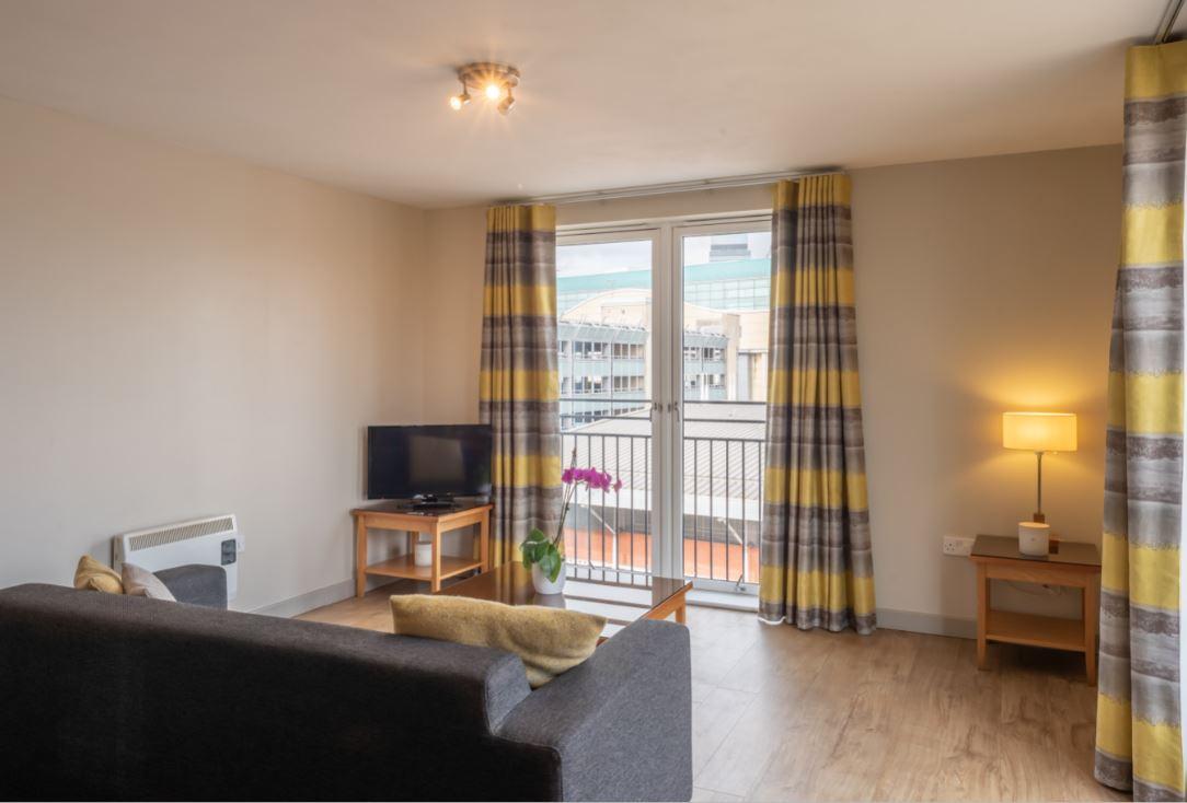 Balcony at Premier Suites Birmingham - Citybase Apartments