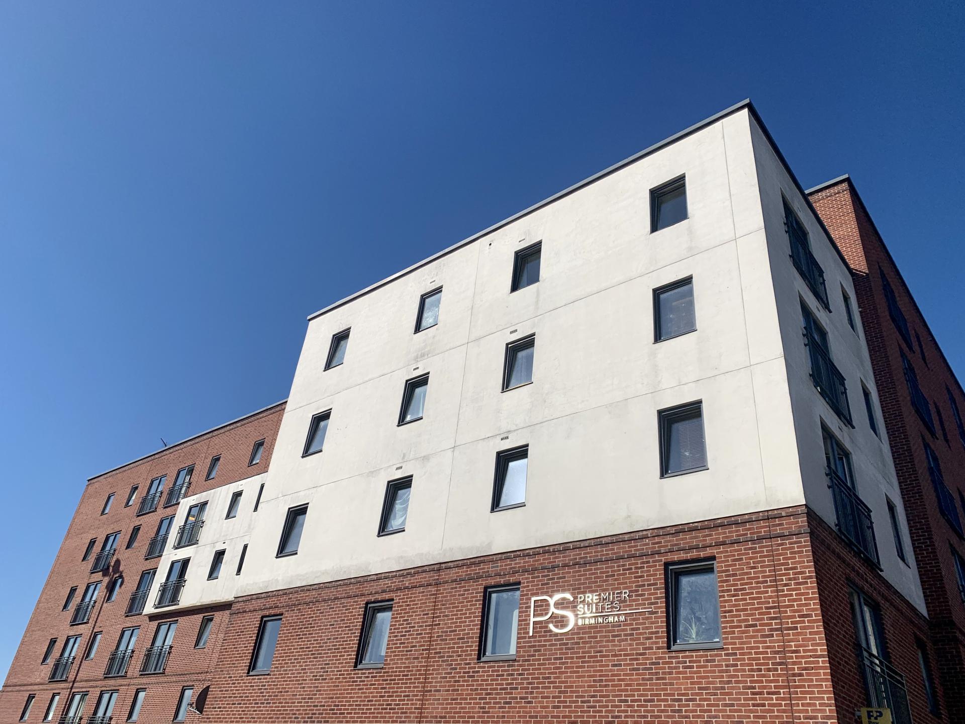Exterior at Premier Suites Birmingham - Citybase Apartments