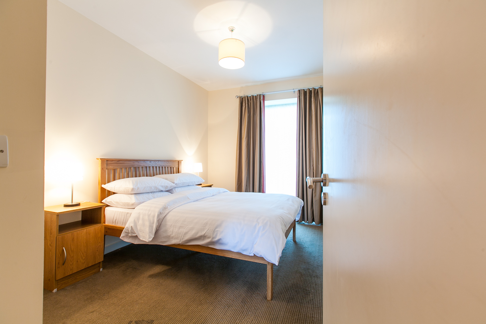 Bed at The Forum Sandyford Apartment, Sandyford, Dublin - Citybase Apartments