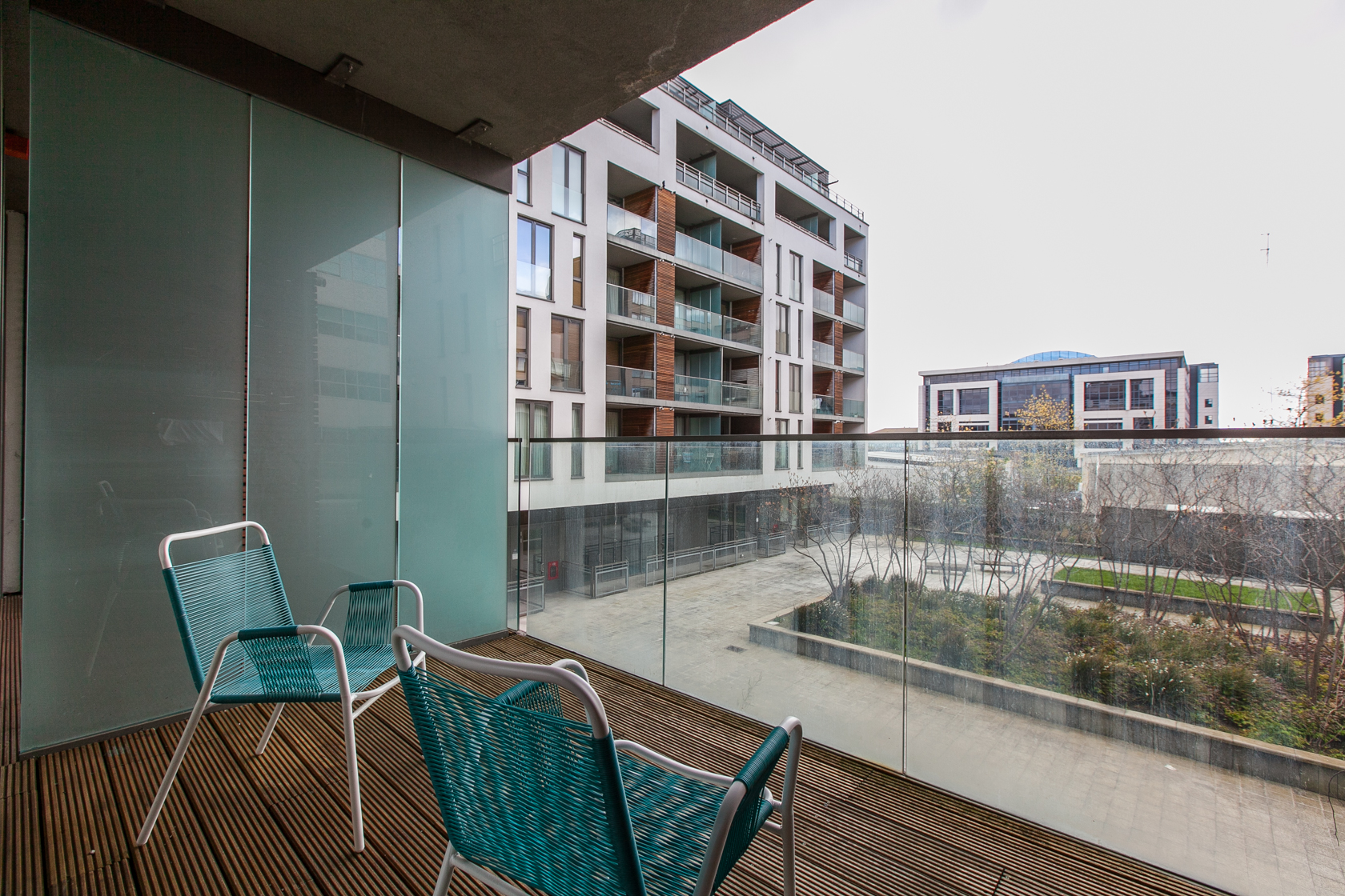Balcony at The Forum Sandyford Apartment, Sandyford, Dublin - Citybase Apartments
