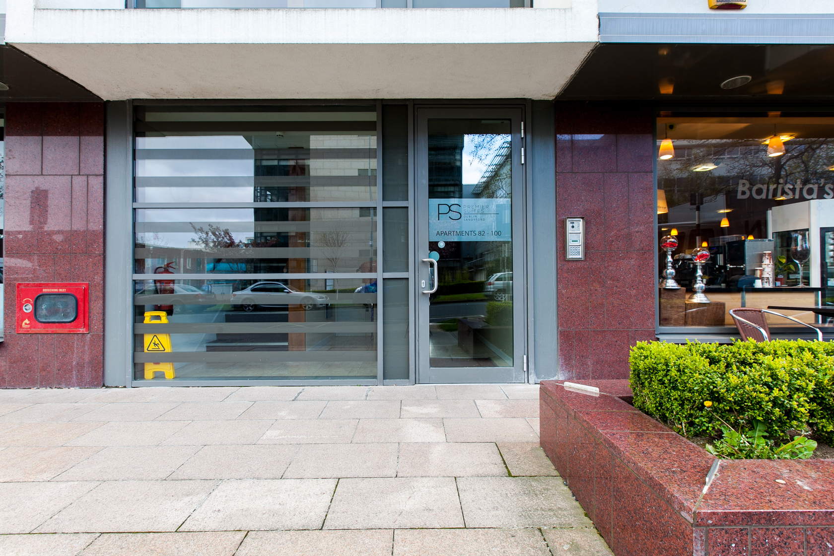 Entrance at The Forum Sandyford Apartment, Sandyford, Dublin - Citybase Apartments