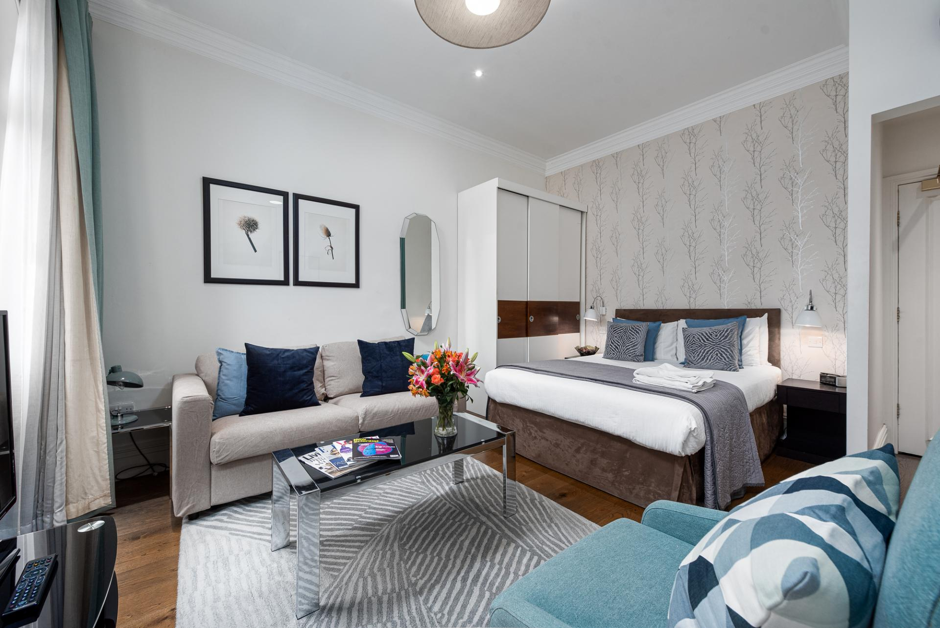 Studio at Draycott Place Serviced Apartments, Chelsea, London - Citybase Apartments