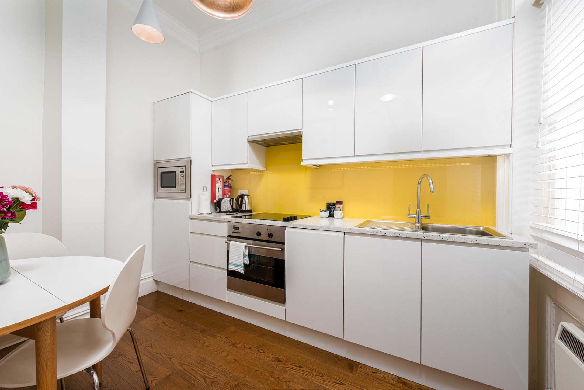 Oven at Draycott Place Serviced Apartments, Chelsea, London - Citybase Apartments