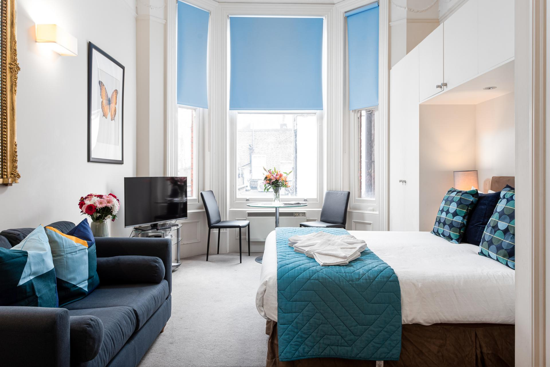 Bright studio at Draycott Place Serviced Apartments, Chelsea, London - Citybase Apartments