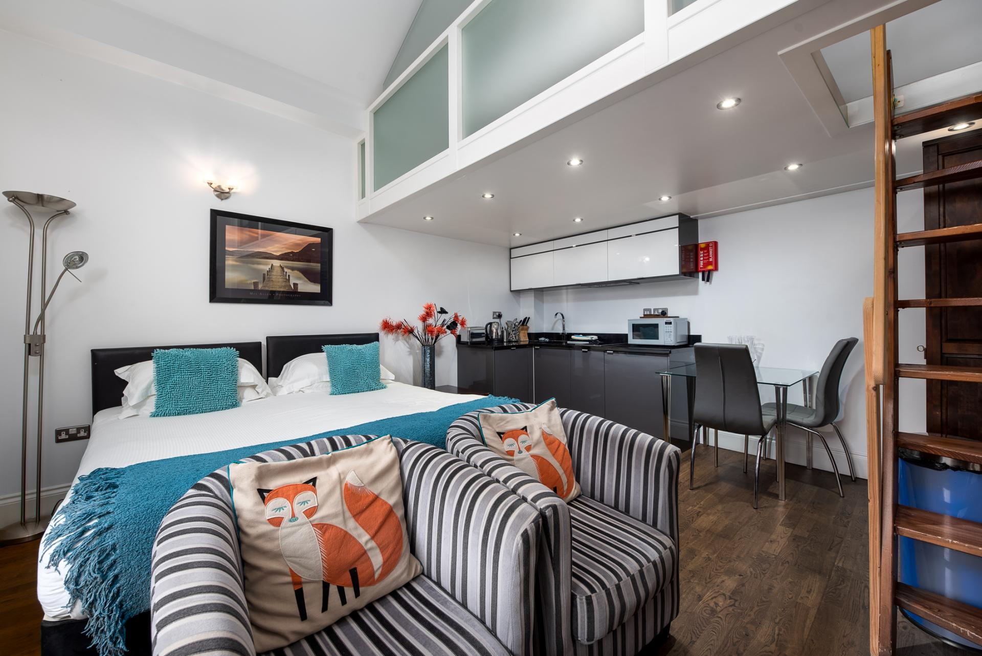 Open-plan at Chelsea Green Apartments, Chelsea, London - Citybase Apartments