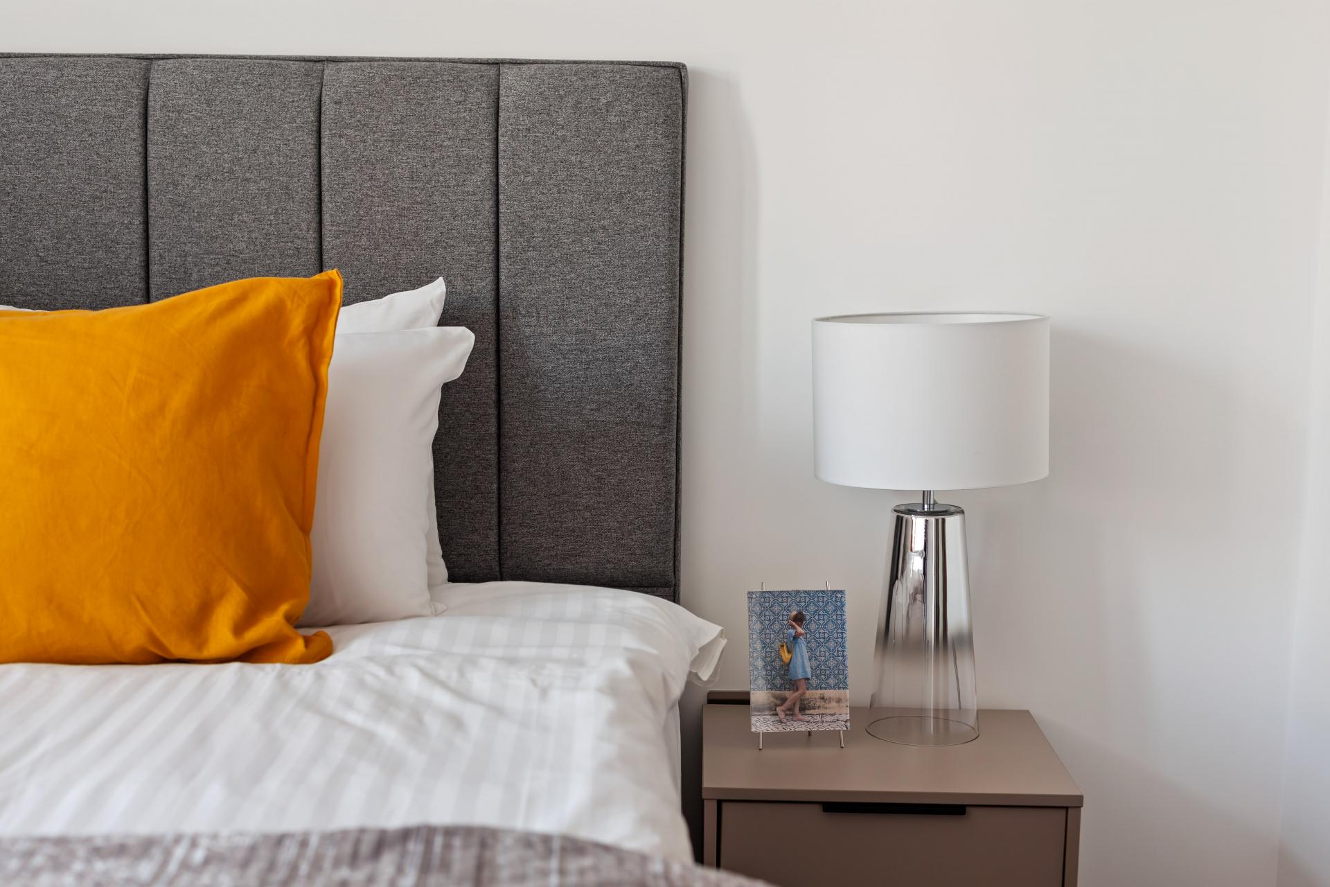 Bedding at The Residence Tower Hill, Whitechapel, London - Citybase Apartments