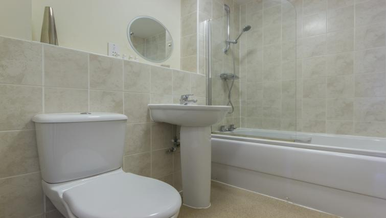Attractive bathroom in Dove House Apartments - Citybase Apartments