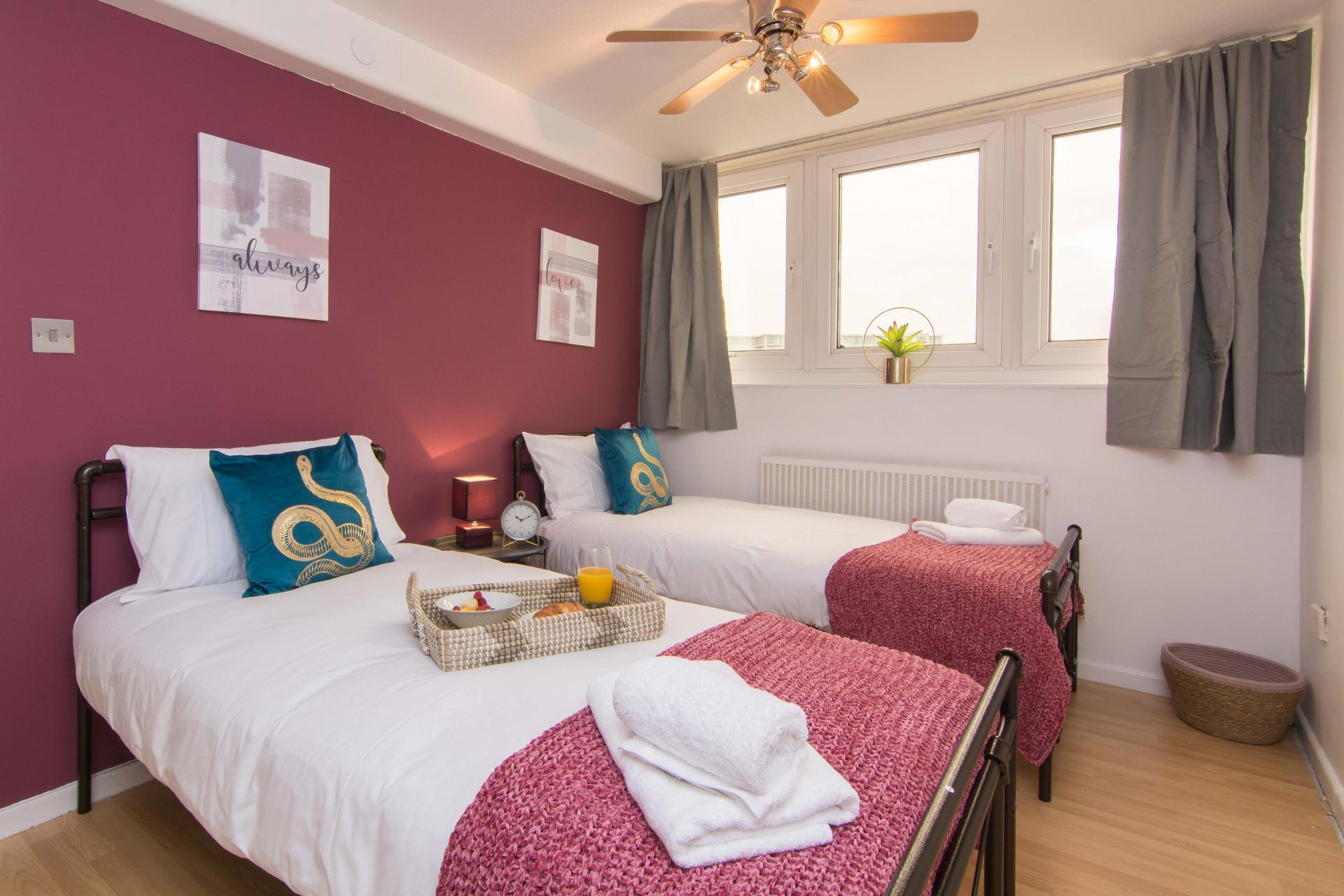 Beds at Victoria Centre Apartment, Centre, Nottingham - Citybase Apartments