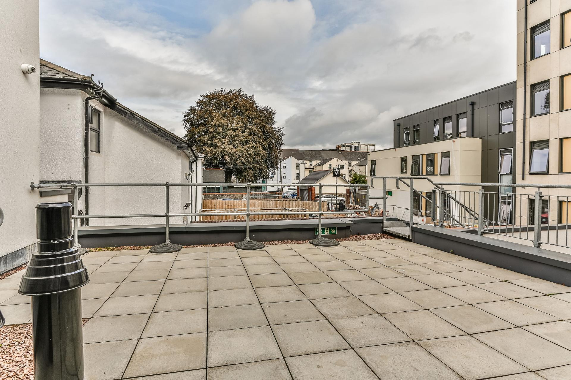 Roof terrace at Park Lane Aparthotel, Centre, Cardiff - Citybase Apartments