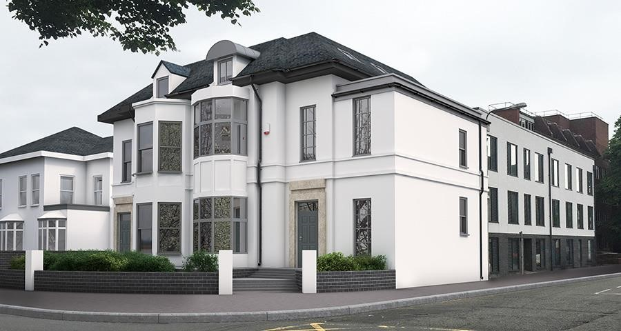Exterior at Park Lane Aparthotel, Centre, Cardiff - Citybase Apartments