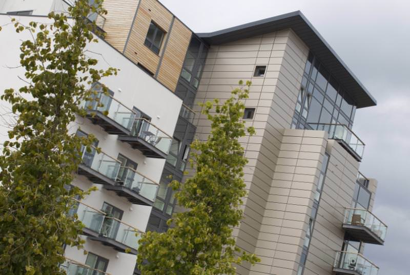 Exterior at The Quayside Apartments, Atlantic Wharf, Cardiff - Citybase Apartments