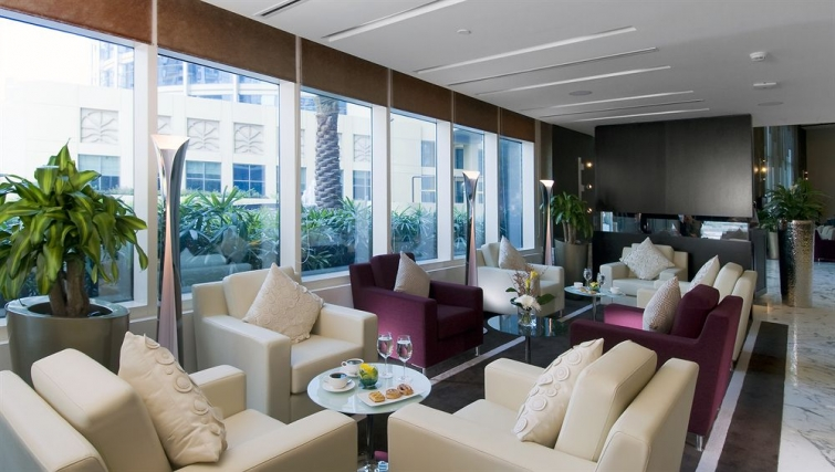 Lovely lobby area in Grand Millennium Al Wahda Apartments - Citybase Apartments