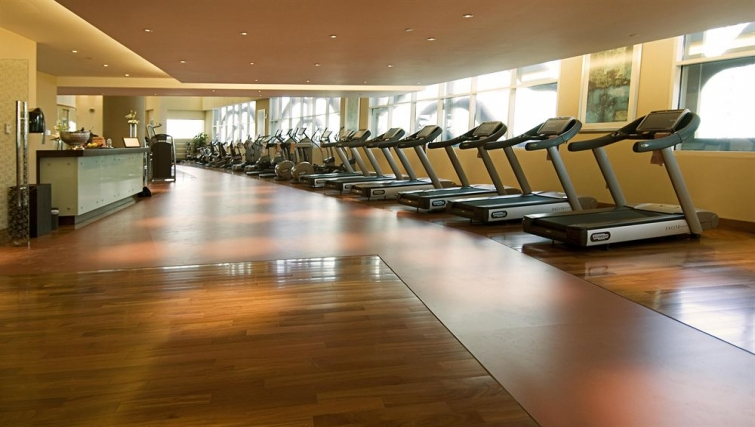 Huge gym in Grand Millennium Al Wahda Apartments - Citybase Apartments
