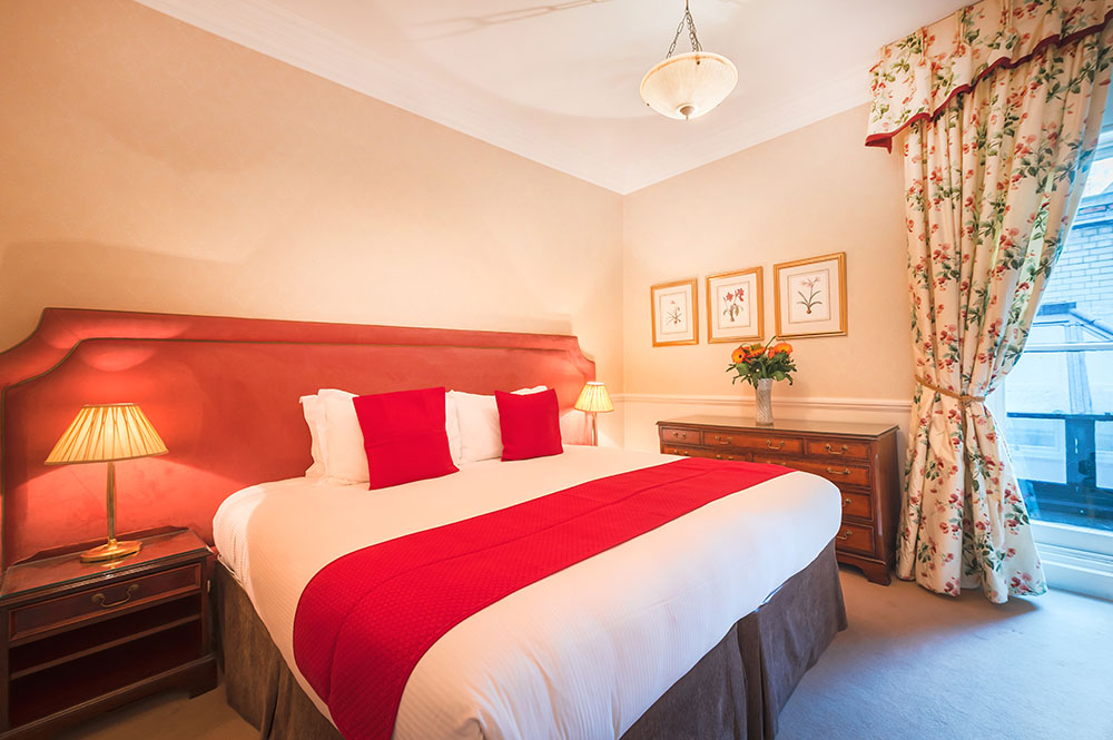 Bedroom at 10 Curzon Street Apartments, Mayfair, London - Citybase Apartments