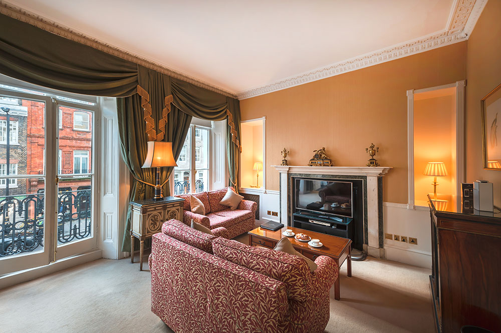 Fireplace at 10 Curzon Street Apartments, Mayfair, London - Citybase Apartments