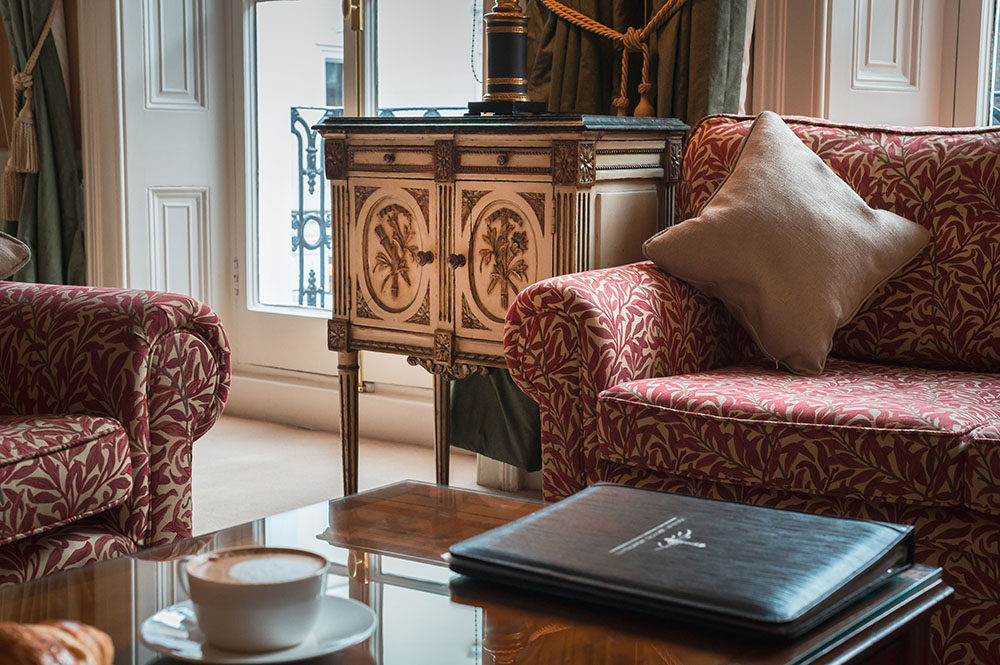 Coffee machine at 10 Curzon Street Apartments, Mayfair, London - Citybase Apartments
