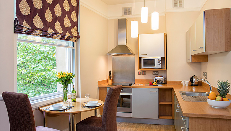 Kitchen at SACO Bristol - West India House - Citybase Apartments