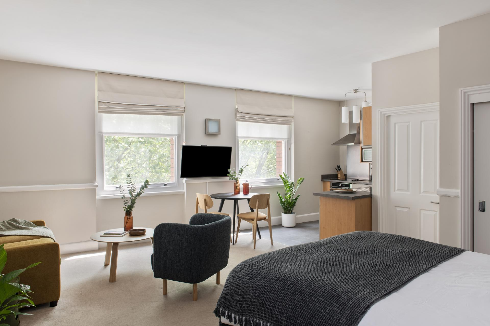 Studio at Cove West India House, Waterfront, Bristol - Citybase Apartments