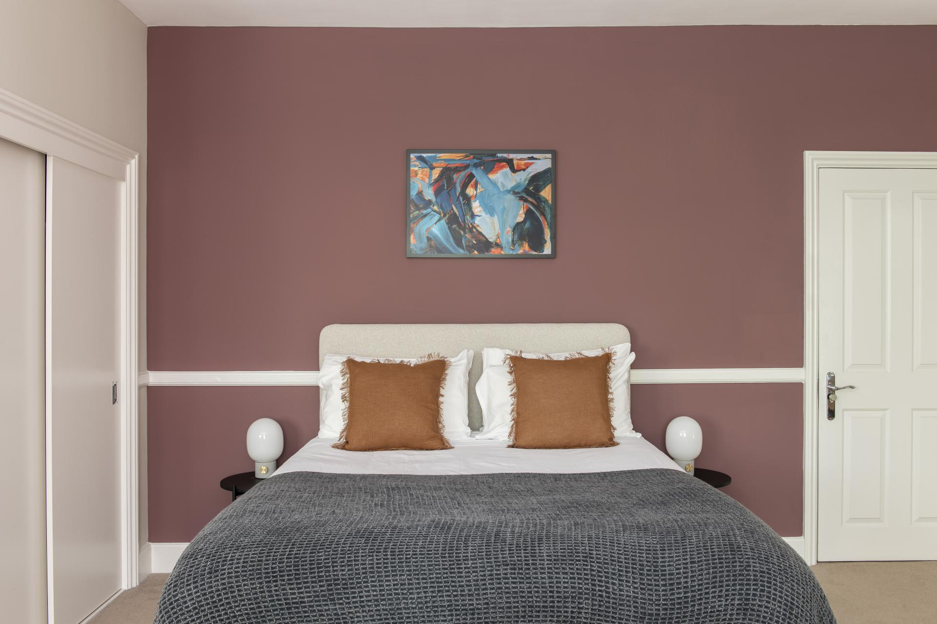 Bedroom at Cove West India House, Waterfront, Bristol - Citybase Apartments
