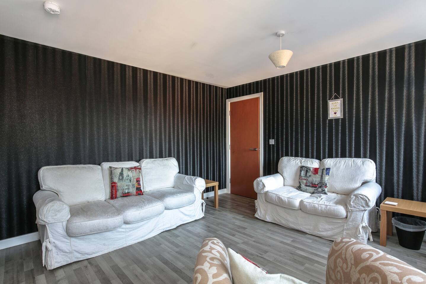 Living area at Young House, Vauxhall, Liverpool - Citybase Apartments