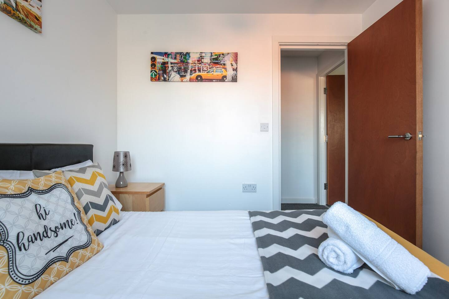 Bed at Young House, Vauxhall, Liverpool - Citybase Apartments