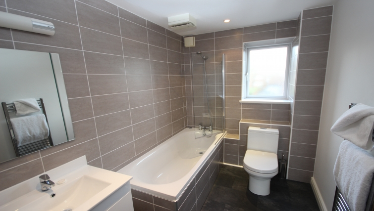Bathroom in High Quays Apartments - Citybase Apartments