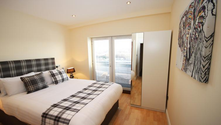 Bedroom at High Quays Apartments - Citybase Apartments
