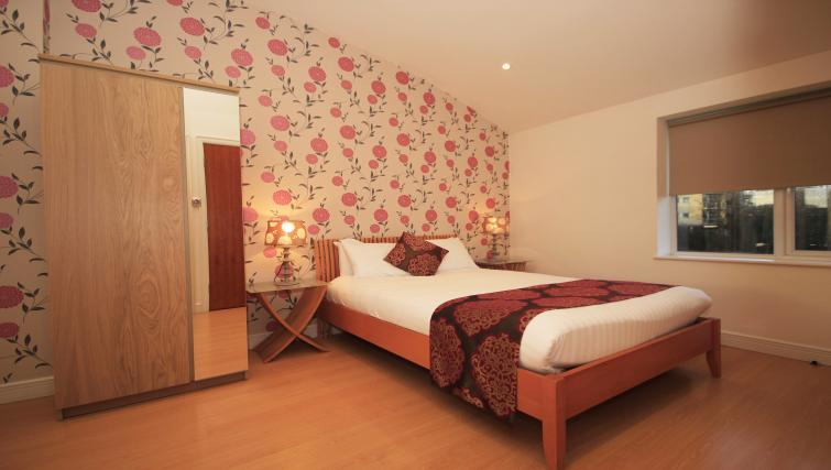 Double bed at High Quays Apartments - Citybase Apartments