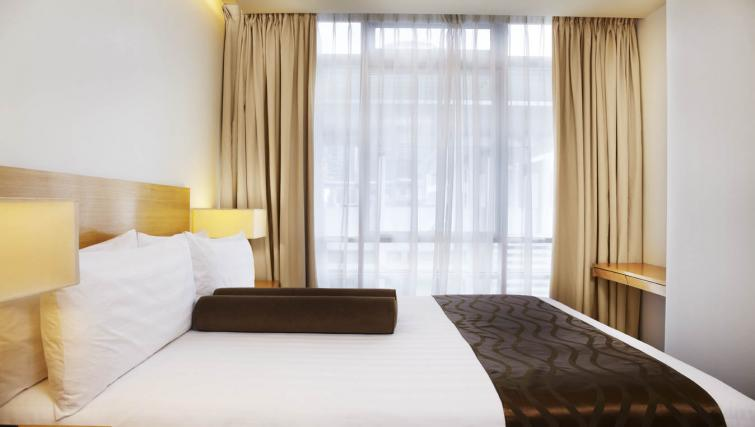 Homely bedroom at PARKROYAL Serviced Suites Kuala Lumpur - Citybase Apartments