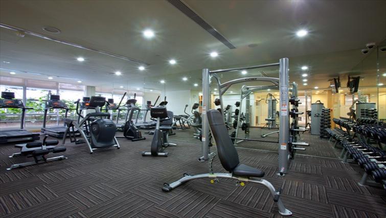 Gym at PARKROYAL Serviced Suites Kuala Lumpur - Citybase Apartments
