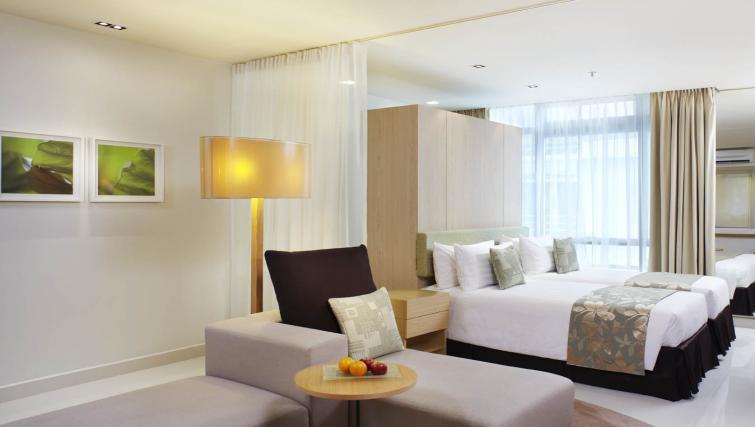 Comfortable bedroom at PARKROYAL Serviced Suites Kuala Lumpur - Citybase Apartments