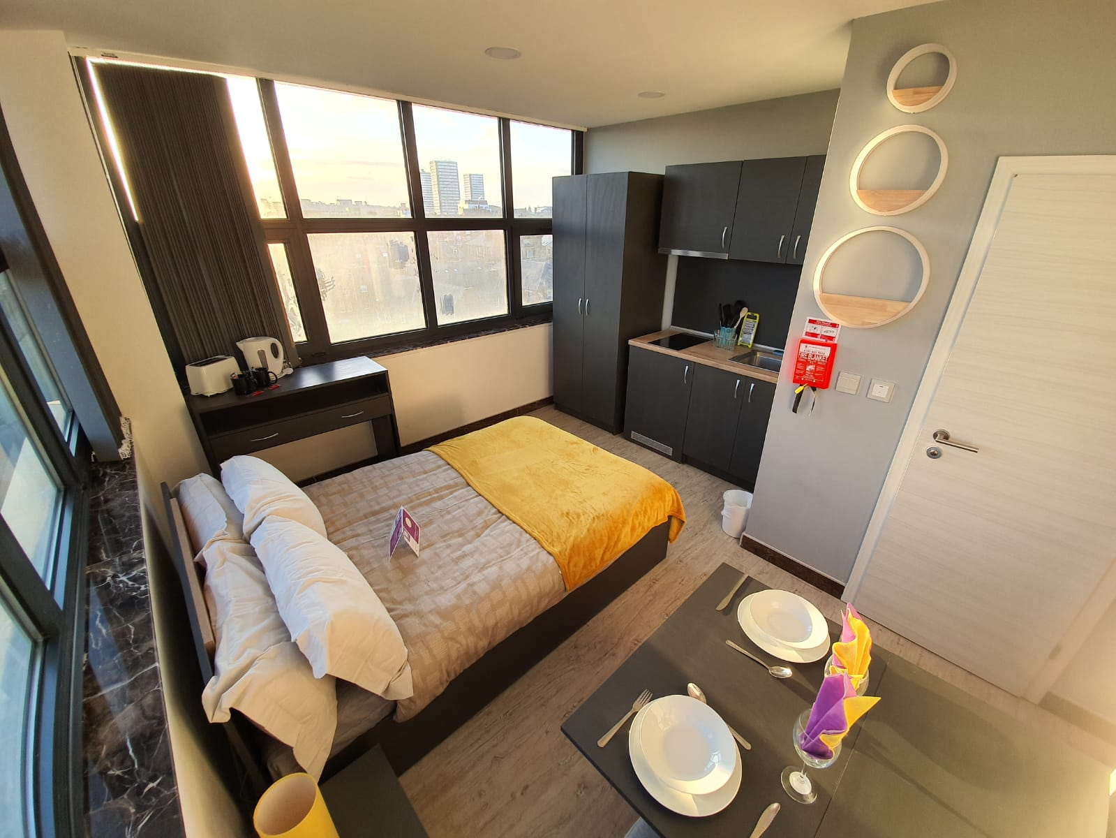 Studio at Sunderland Central Studios, Centre, Sunderland - Citybase Apartments