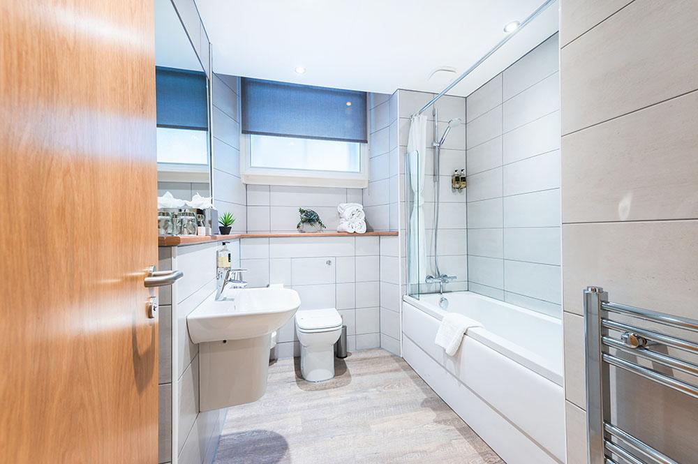 Bathroom at Thistle Street Braid Apartments, Centre, Edinburgh - Citybase Apartments