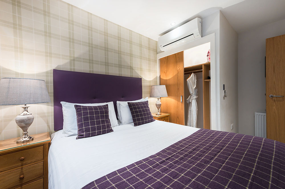 Bed at Thistle Street Braid Apartments, Centre, Edinburgh - Citybase Apartments