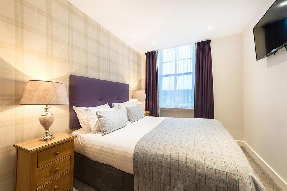 Bedding at Thistle Street Braid Apartments, Centre, Edinburgh - Citybase Apartments