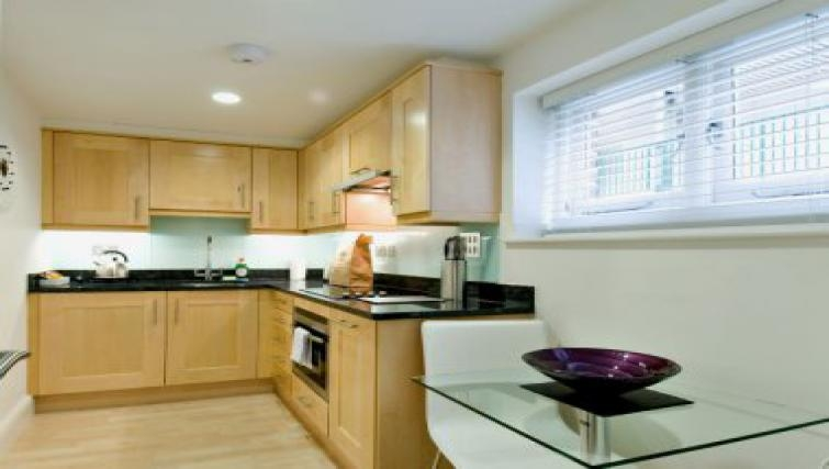 Smart kitchen in 38 James Street - Citybase Apartments